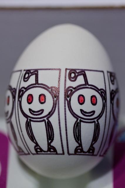 Reddit Logo Egg
