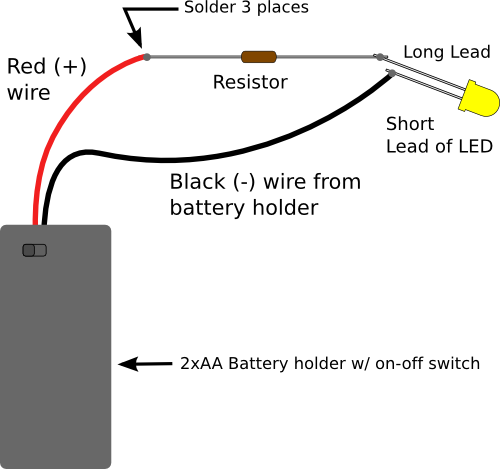 draw a wiring diagram with Resistors For Leds on Putting Lights On A Christmas Tree The Easy Way furthermore How Does Electric Energy Flow In A Circuit moreover Sectiong besides 53567 99 Dodge Ram 1500 Battery Draw in addition Fuel Sending Units.