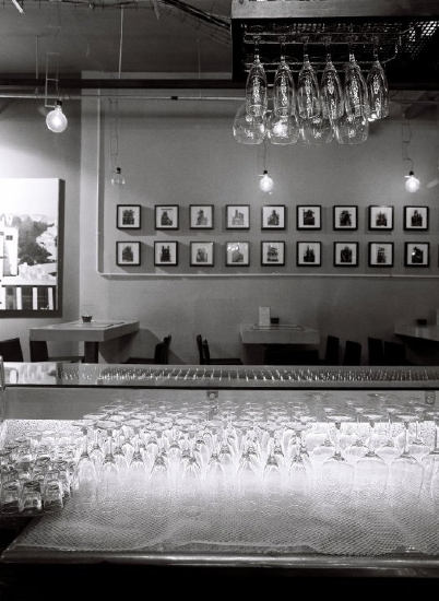Black & White Bar Picture